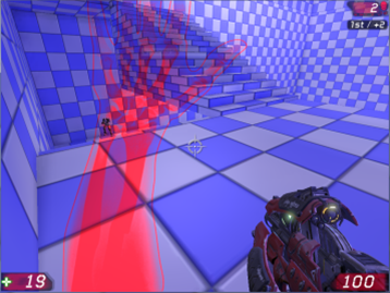 Ouch! Embodied First-Person Damage Indicators (2013)