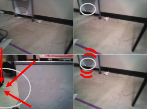 Movers, Shakers, and Those Who Stand Still: Visual attention-grabbing in robot tele-operation (2017)