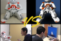 A simulated robot versus a real robot (2015)