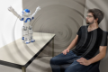 Infrasound for HRI: A Robot Using Low-Frequency Vibrations to Impact How People Perceive its Actions