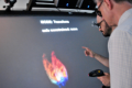 3D Visualization of Astronomy Data Cubes using Immersive Displays
