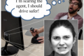 Backseat Teleoperator: affective feedback with on-screen agents to influence teleoperation